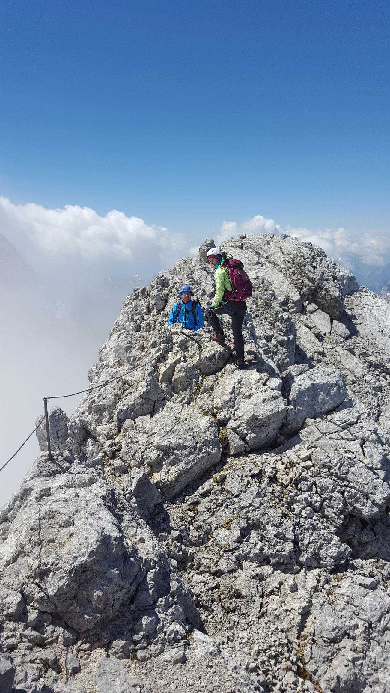Tourenbericht Watzmann Überschreitung - Munich Mountain Girls