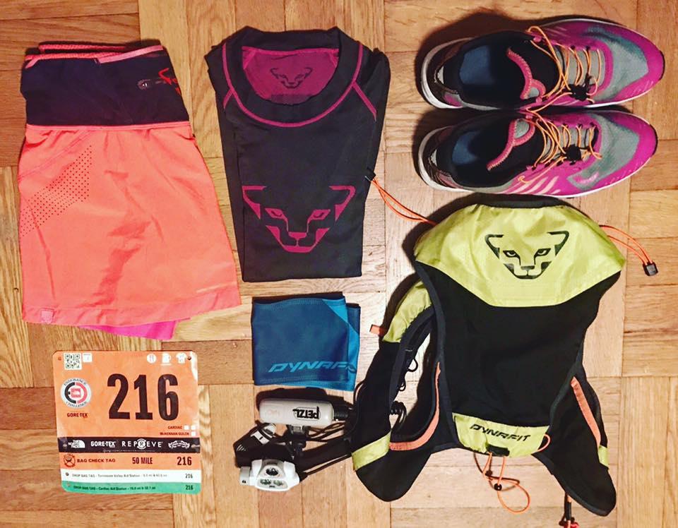 Nina-Koch-Trailrunning-Ausstattung-Dynafit-TNF Endurance-Challenge-50 Miles