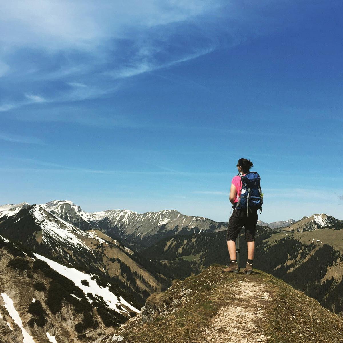 bea-froehlich-Kramerspitze-wandertour-wandern