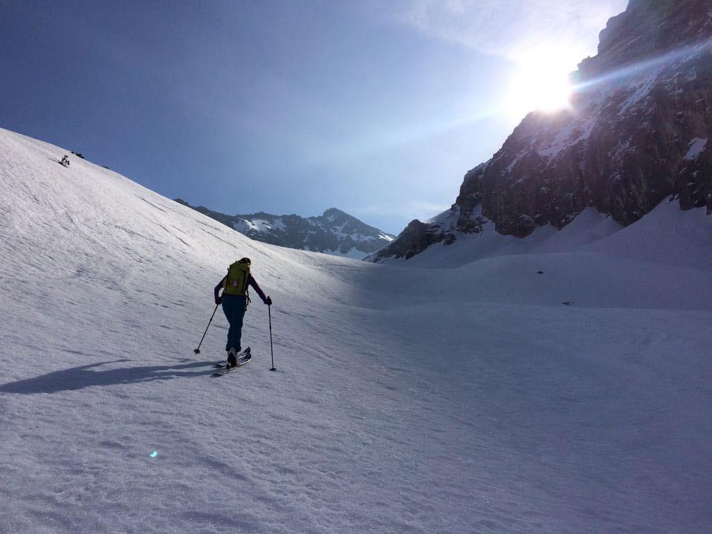 Skitouren Bayern johanna-swatosch-munichmountaingirls-Birkkarspitze-skitour-winter-karwendel