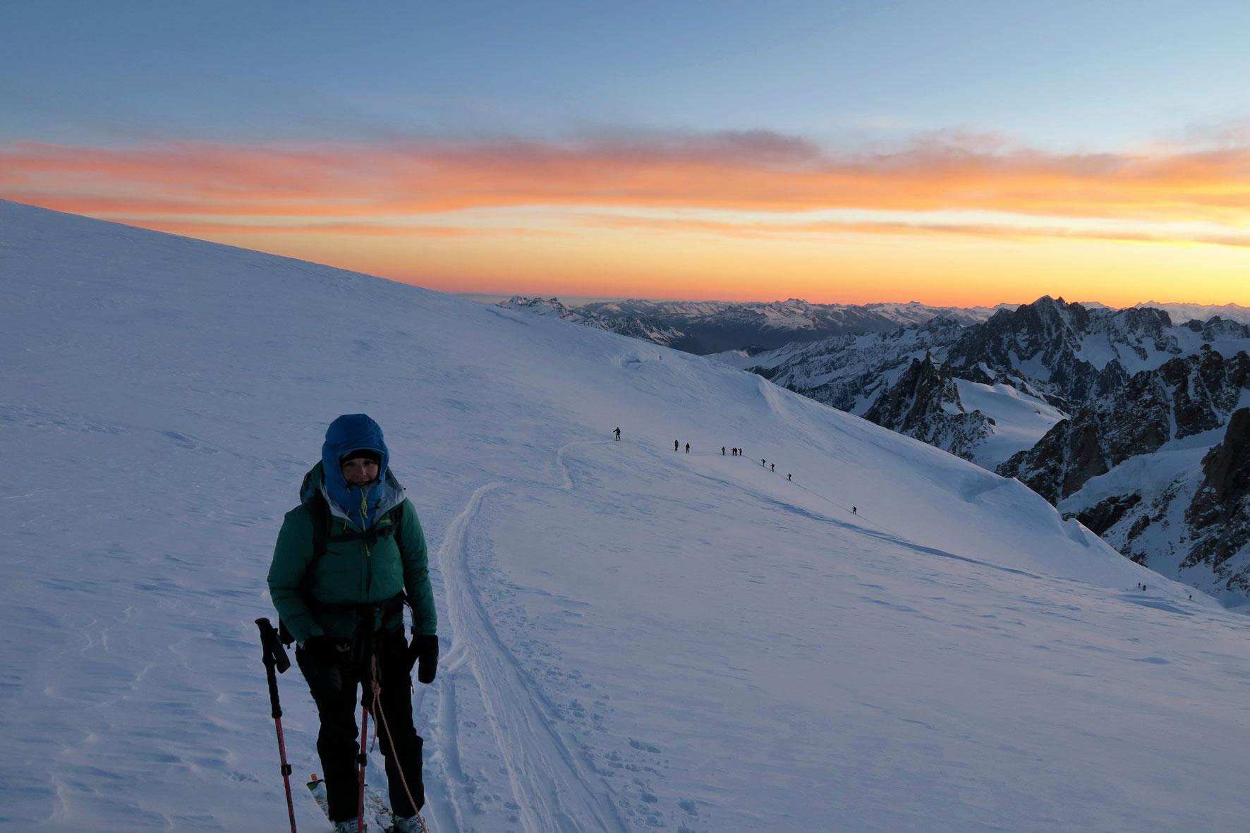 munichmountaingirls-melanie-brem-sonnenaufgang-Mont-Blanc