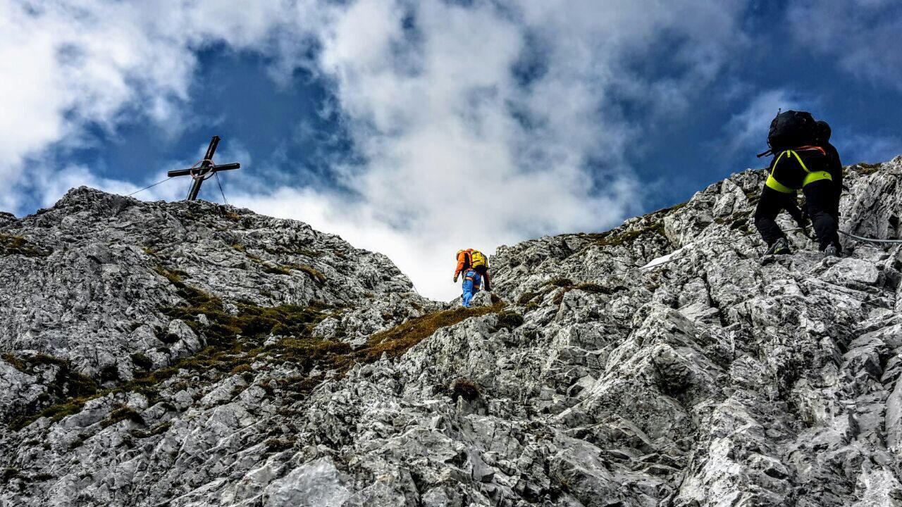 Klettersteig Innsbruck : Innsbrucker panorama klettersteig tourenbericht