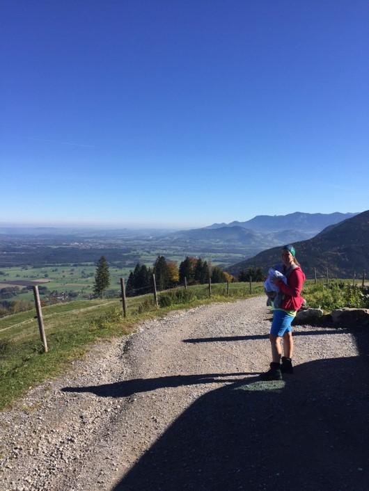 Sandra_munichmountaingirls_erste Bergtour mit Baby_Tourenplanung