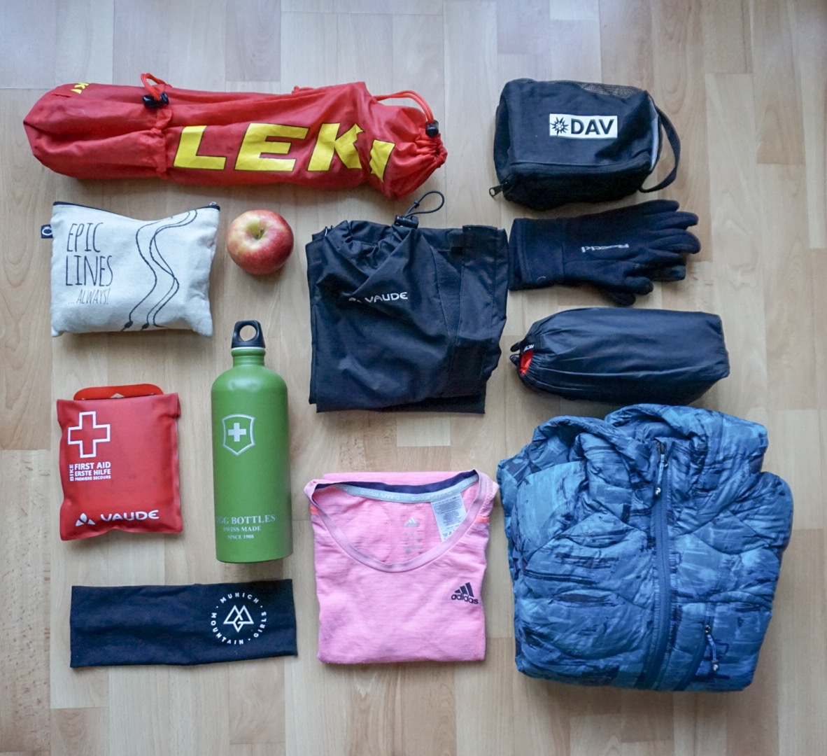 Munich Mountain Girls_Packliste Wandern Basic
