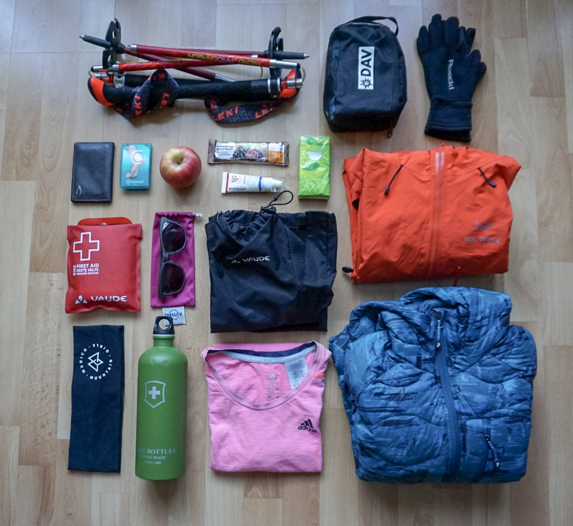 Munich Mountain Girls_Packliste Wandern