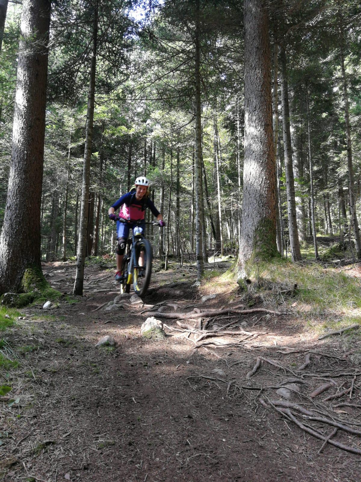 molveno bike trails mtb frauen