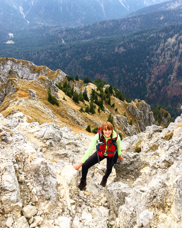 Munich Mountain Girls Tourentipps Herbst Große Klammspitze Dana