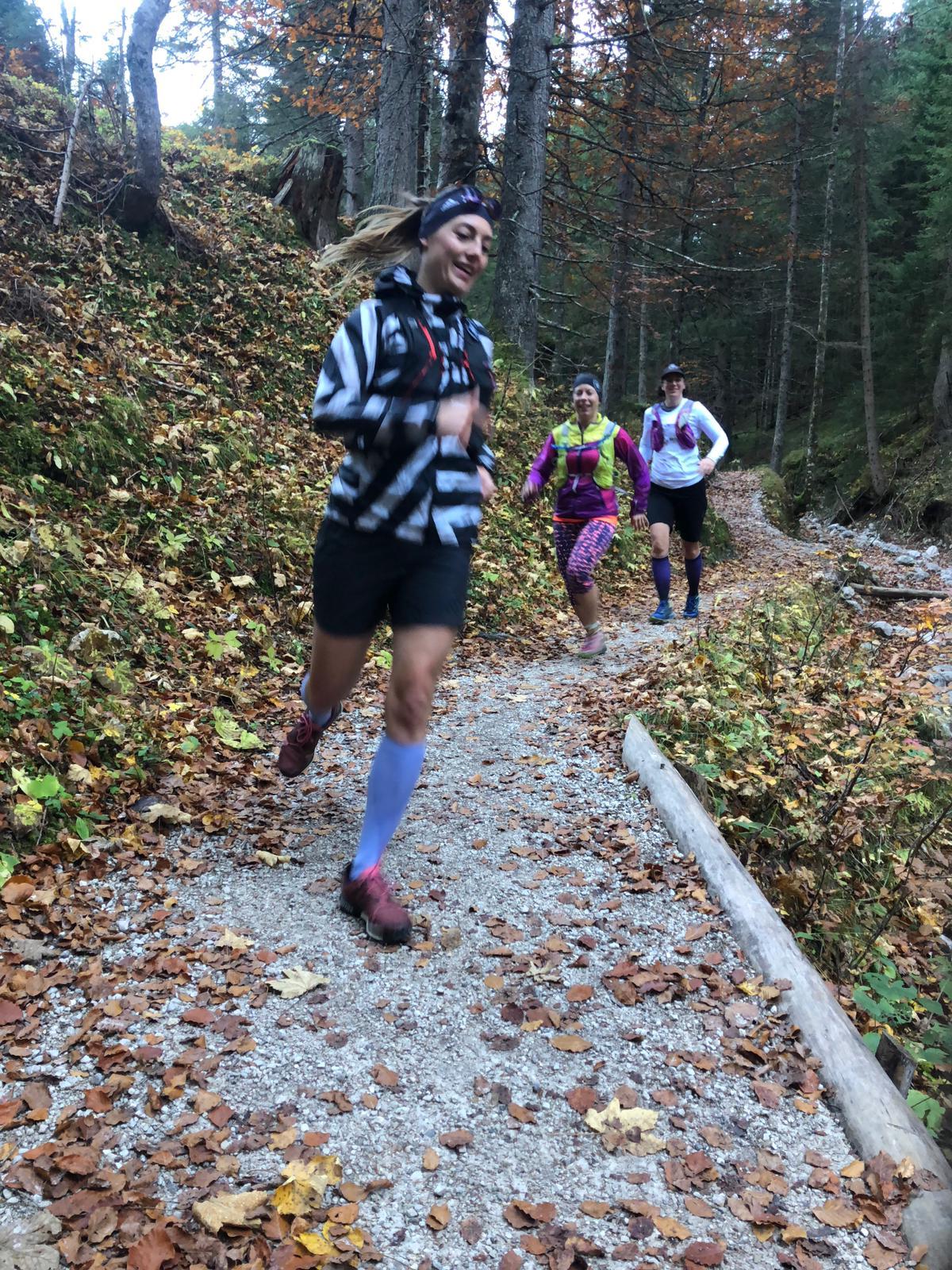 TrailrunningTirolerZugspitzArena-MunichMountainGirls- Laufen Action