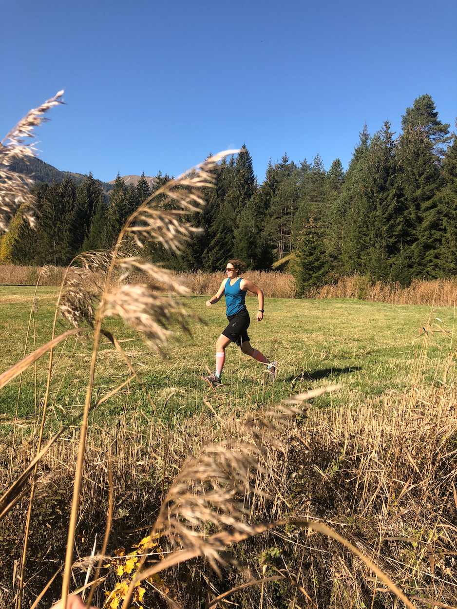 Trailrunning Tiroler Zugspitz Arena Munich Mountain Girls Lauf Stefanie