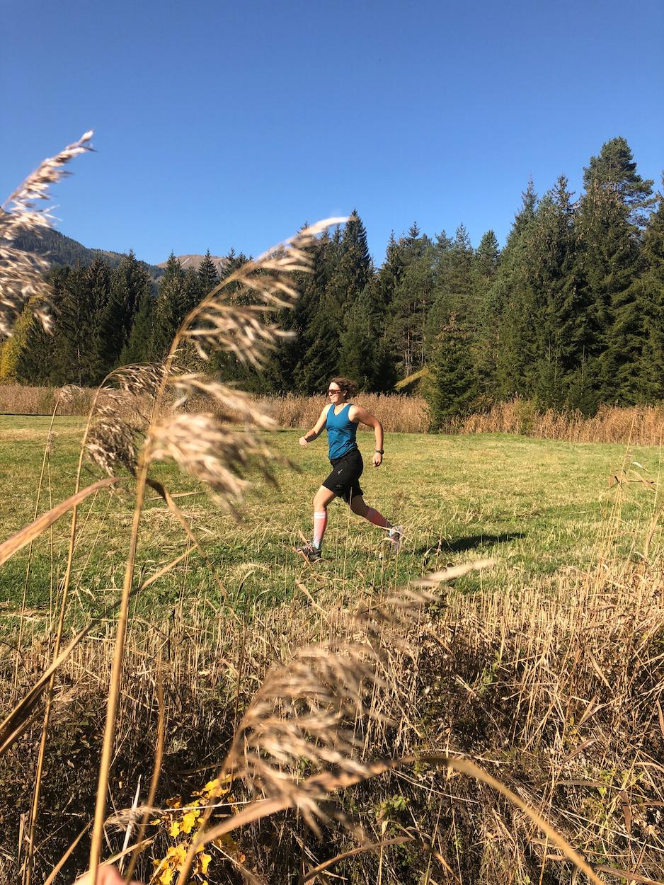 Trailrunning Tiroler Zugspitz Arena Munich Mountain Girls Lauf Stefanie