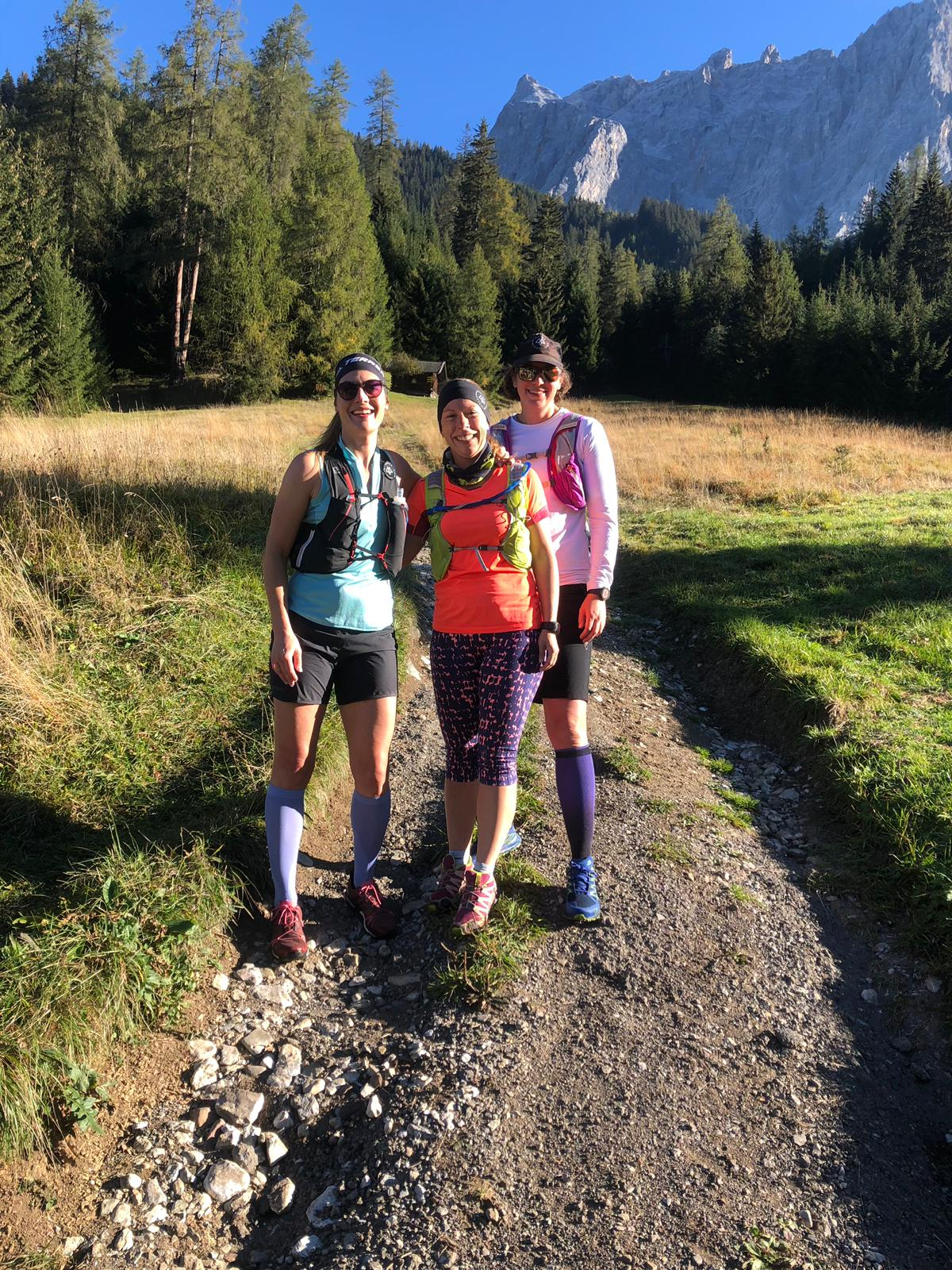 Trailrunning Tiroler Zugspitz Arena Munich Mountain Girls MMG