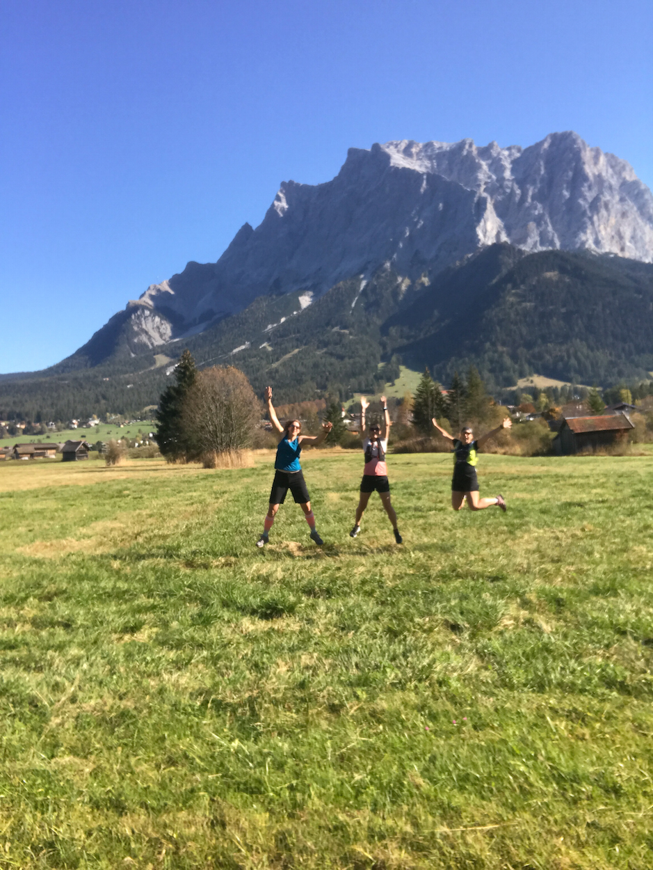 Trailrunning Tiroler Zugspitz Arena Munich Mountain Girls Spass