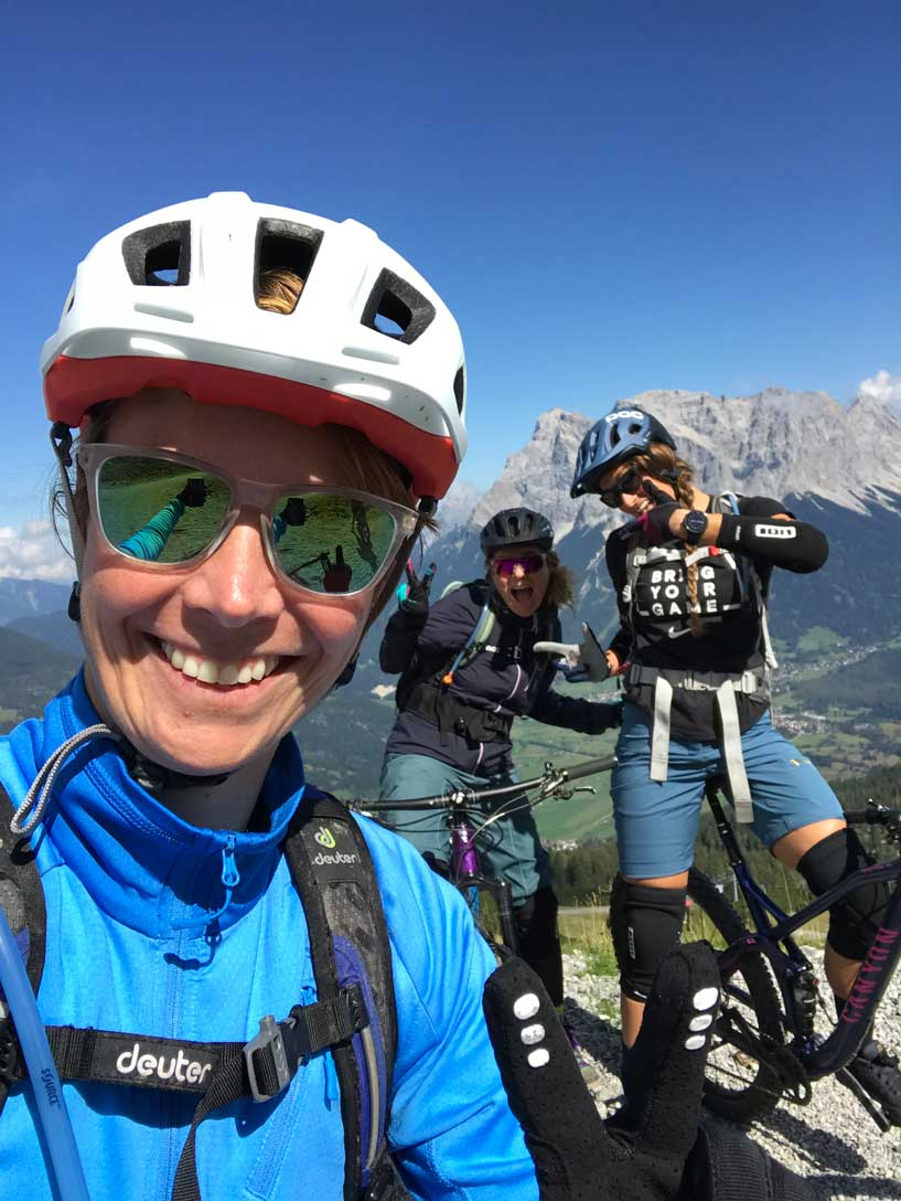 selfie-mtb-tiroler-zugspitz-arena-munichmountaingirls