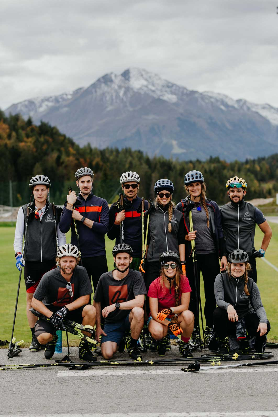 Nordic Team Tirol Munich Mountain Girls Gruppe