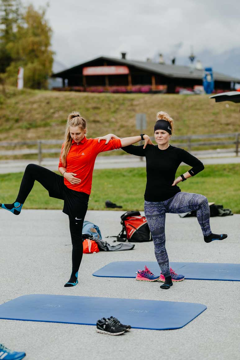 Nordic Team Tirol Munich Mountain Girls Training