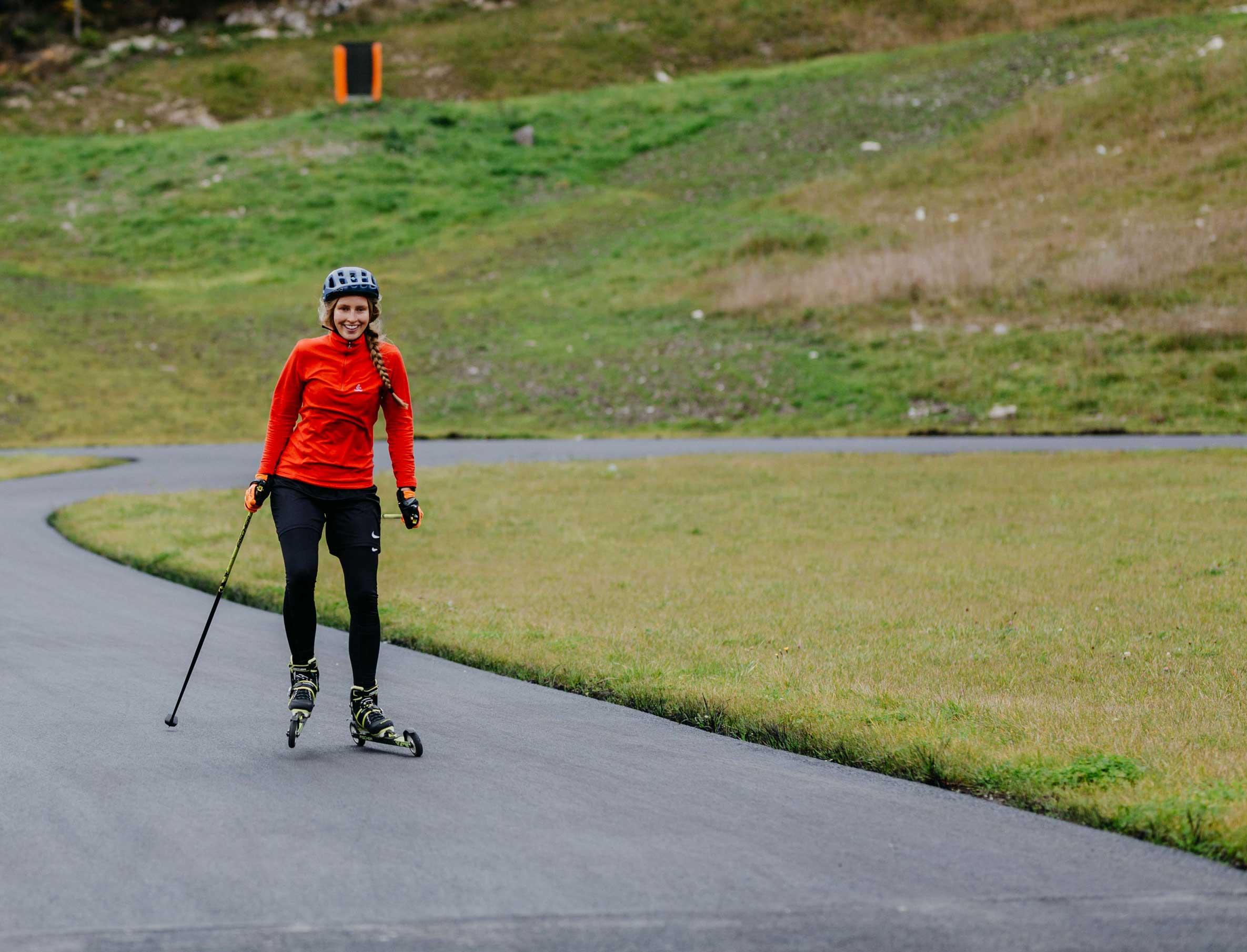 Nordic Team Tirol Munich Mountain Girls erste Versuche