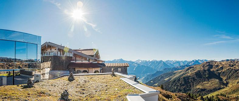 Heiraten in den Bergen: In der Kristallhütte im Zillertal