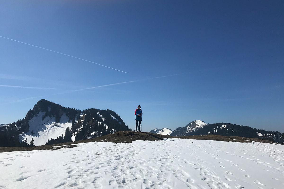 Munich Mountain Girl Stefanie auf dem Laubenstein