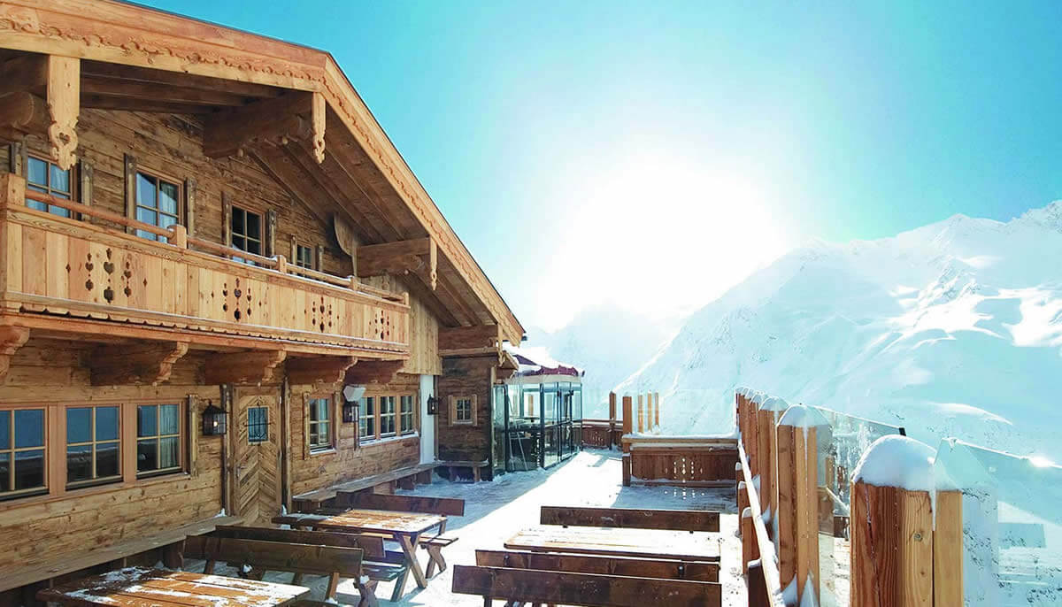 hochzeitslocation in den bergen: hohe Mut Alm tyrol