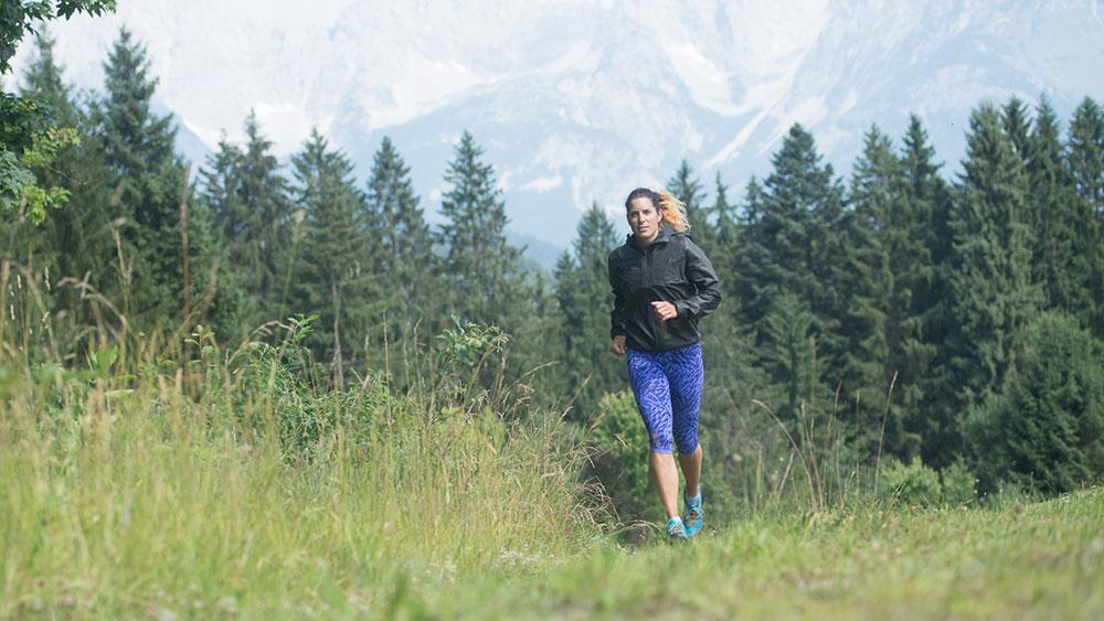 Bergsteigerin Tamara Lunger Trailrunning Training