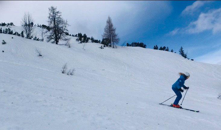 Skifahren in der Tiroler Zugspitz Arena / Frauen in der TZA / Munich Mountain Girls