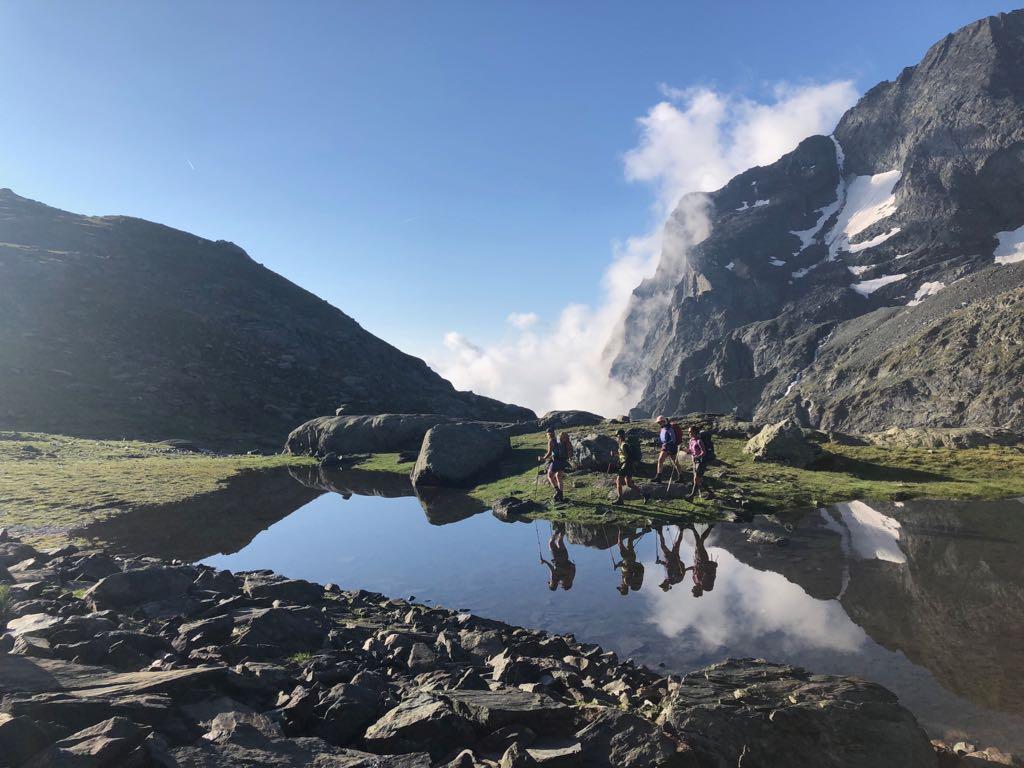 Munich Mountain Girls unterwegs in den Lanzotälern / bergauf bergab BR