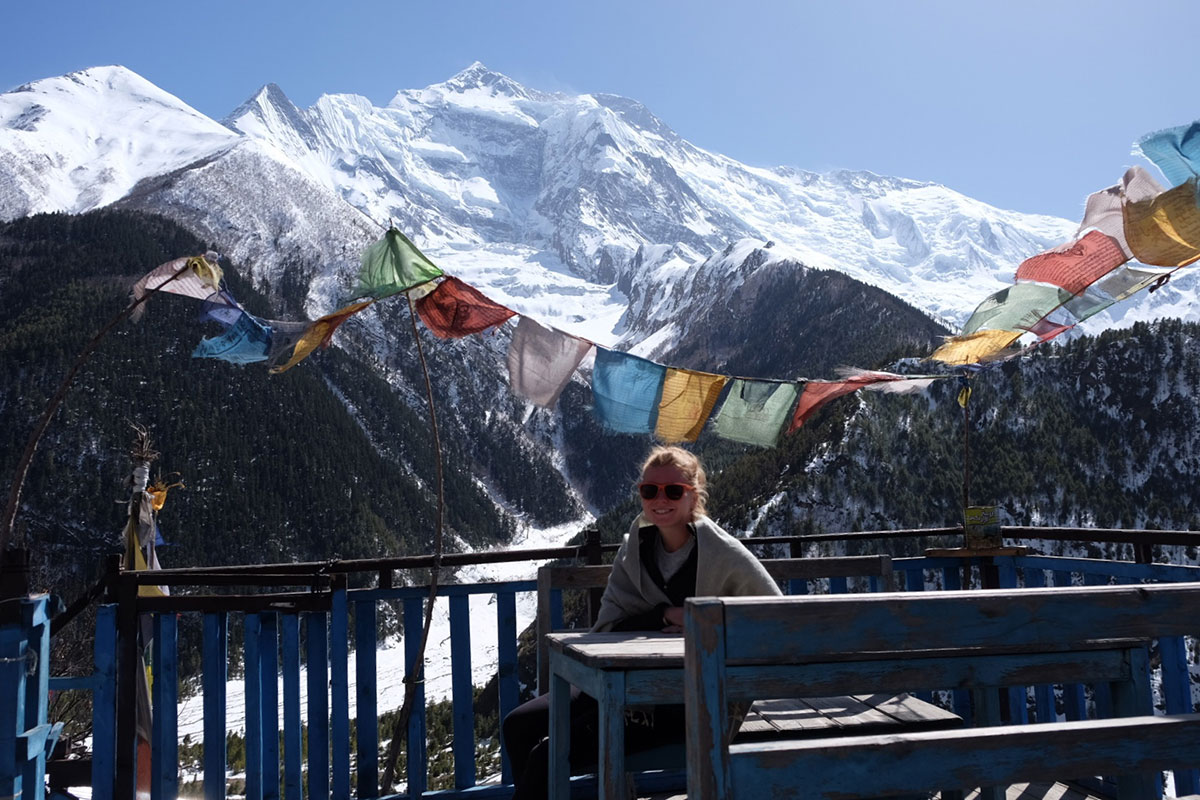 Christina Rottmair in Nepal