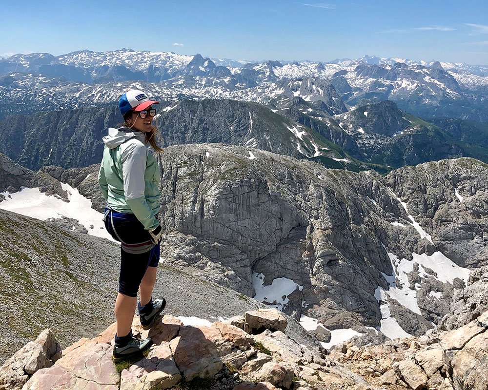 Munich Mountain Girl Celine Ausblick Hoher Goell Berchtesgadener Land