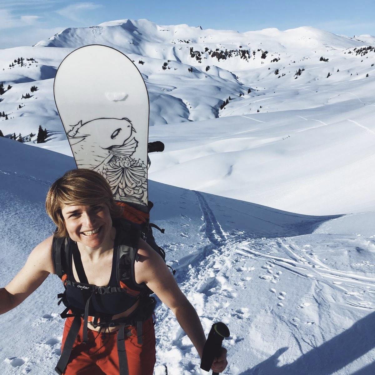 anna-weiss-Auf Fruehlingsskitour im Bregenzer Wald