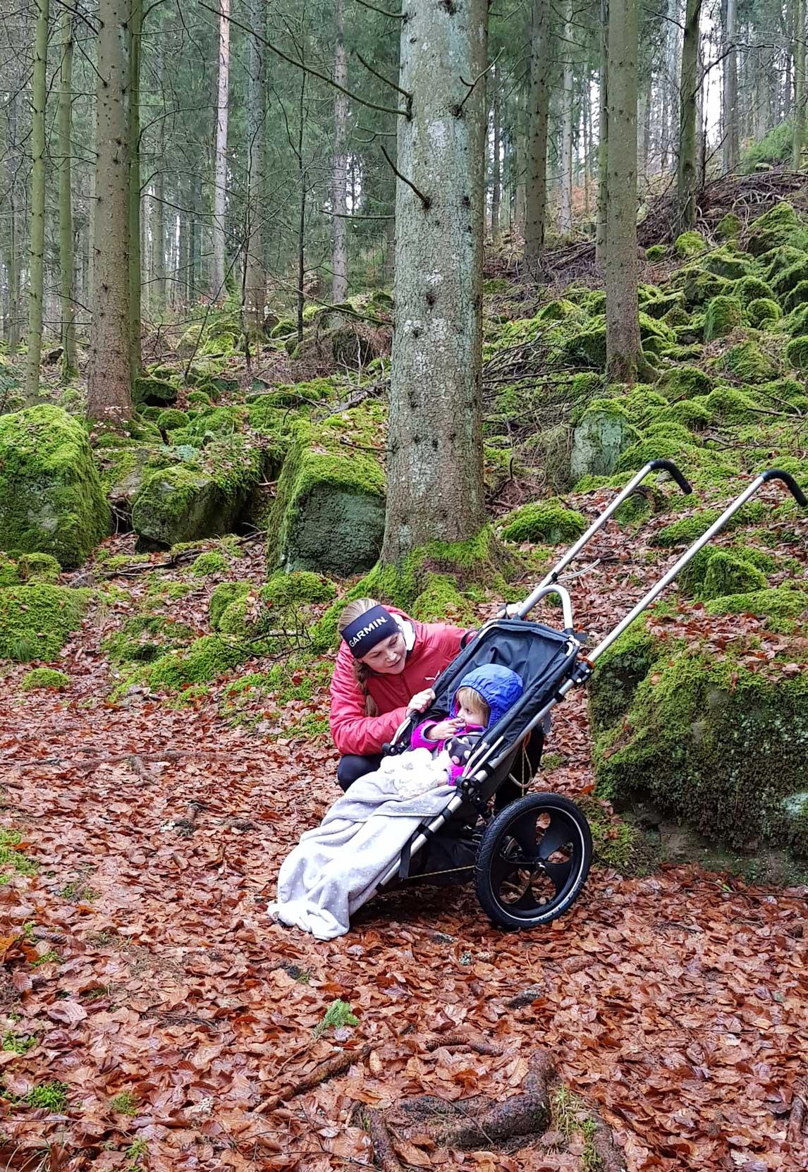 outdoor-kinderwagen-wald