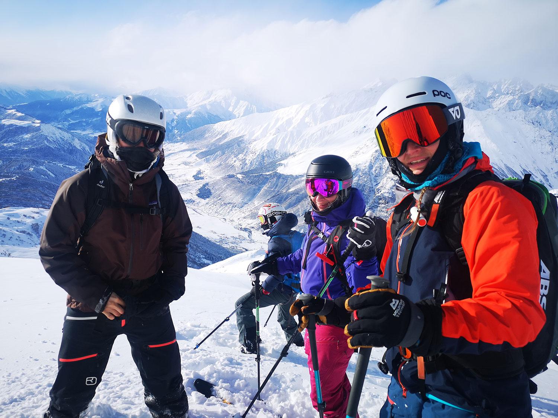 Skitouren-Georgien-lena-guide-tanja-tetnuldi