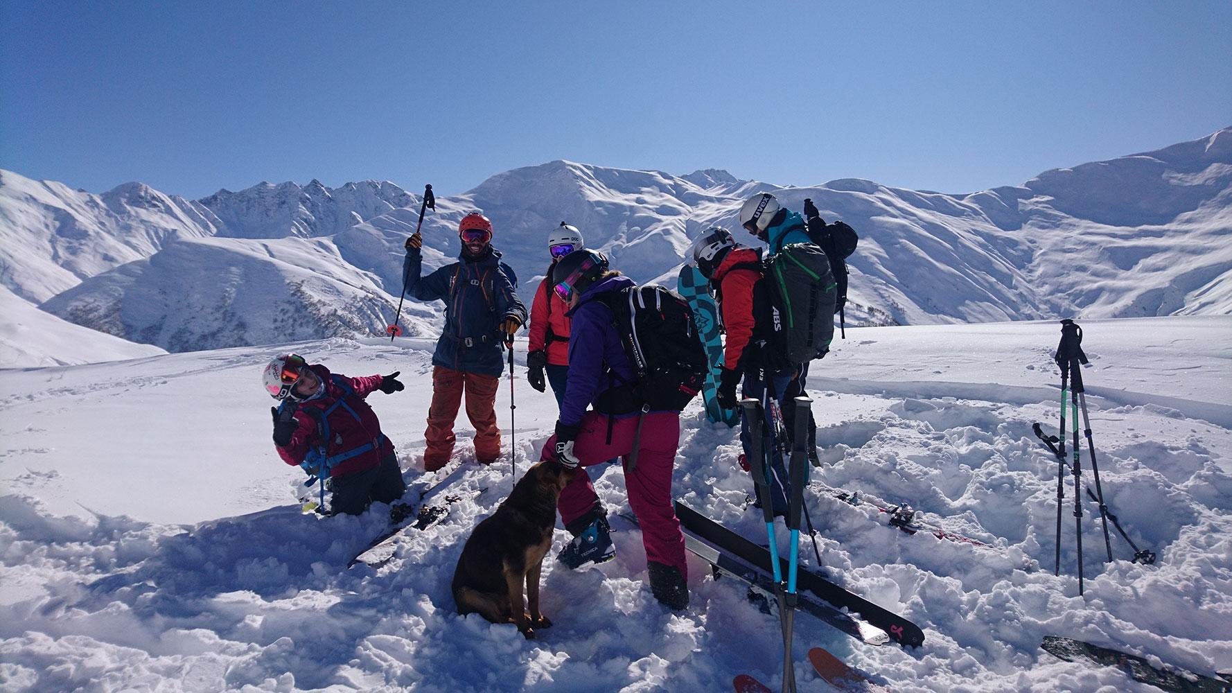 skitour-georgien