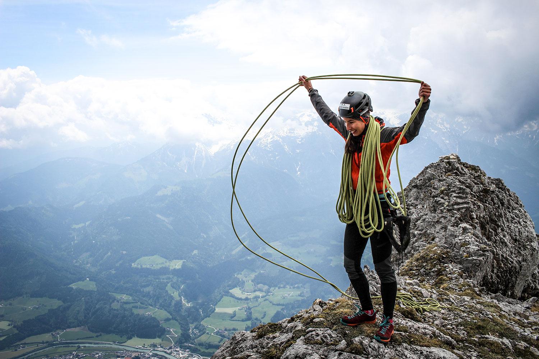 berghasen-Klettern